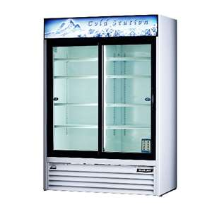 BLUE AIR BAGR48 Glass Door Refrigerator