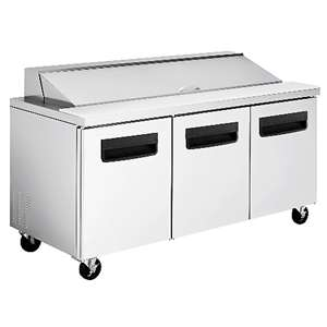 BLUE AIR BAPT3 Sandwich Prep Table