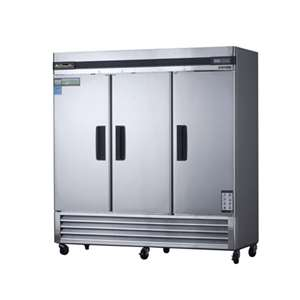 BLUE AIR BASR3 Reach-In Stainless Steel Refrigerator