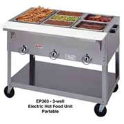 DUKE EP303 Aerohot 3 Well Electric Steamtable