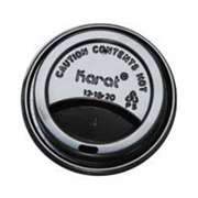 KARAT C-KDL508B Sipper Dome Lid for 8 oz Hot Cups
