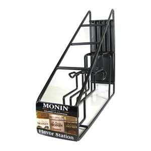 Monin H-WIRERACK4 Coffee Syrup Wire Rack