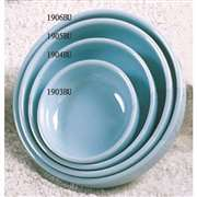 "Thunder Group 6 oz, 4 1 / 2"" Bowl (Flat), Blue Jade, 1 Dozen, THUND-1904"
