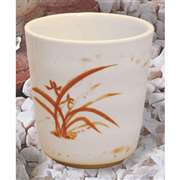 "Thunder Group 8 oz, 3 1 / 8"" Mug, Gold Orchid, 1 Dozen, THUND-9753GD"