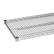 Thunder Group CMSV2436 Chrome Wire Shelving