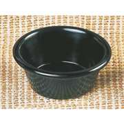 "Thunder Group 2.5 oz, 2 7 / 8"" Smooth Ramekin, Black, 4 Dozen, THUND-ML536BL"