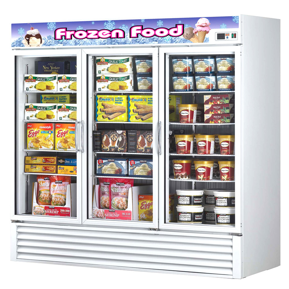 Turbo Air Glass Door Freezer Merchandiser Tgf 72f Kitchen Of Glam