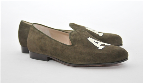 Men's ARMY Olive Suede Shoe