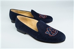 Men's AUBURN Blue Linen Shoe