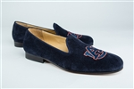 Men's AUBURN Blue Suede Shoe