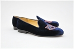 Men's AUBURN Blue Velvet Shoe