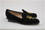 Men's BAYLOR Black Suede Shoe
