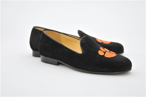 Men's CLEMSON Black Suede Shoe