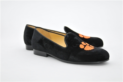 Men's CLEMSON Black Velvet Shoe