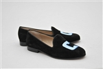 "Men's Columbia ""Block C"" Black Suede Shoe"
