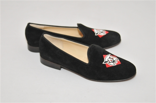 Men's DAVIDSON COLLEGE Black Suede Shoe