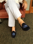 "Men's Georgetown ""G""  Blue Suede Shoe"