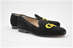 Men's GEORGIA TECH Black Suede Shoe