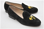 "Men's GEORGIA TECH Black Suede ""Buzz Mascot"" Shoe"