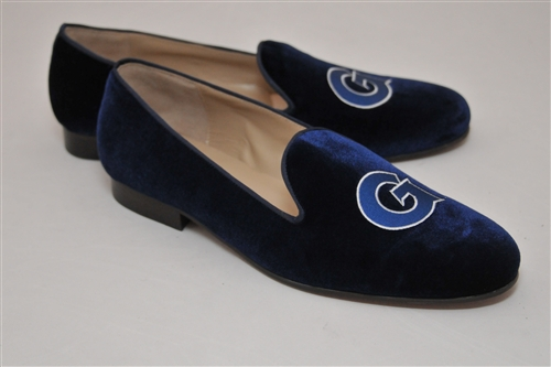 Men's GEORGETOWN UNIVERSITY  Blue Velvet Shoe