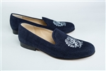 Men's GEORGETOWN University Crest Blue Linen Shoe