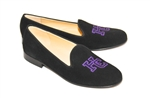 Men's HOLY CROSS COLLEGE Black Suede Shoe