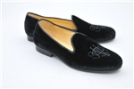 Men's JPC Monogram Black Velvet Shoe