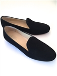 Men's JPC Plain Black Suede Shoe