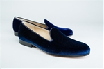 Men's JPC Plain Blue Velvet Shoe