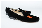 Men's University of Miami Black Suede Shoe