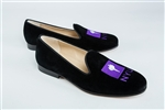 Men's New York University Black Suede Shoe