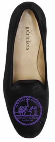 Men's New York University w/ Seal Black Suede Shoe