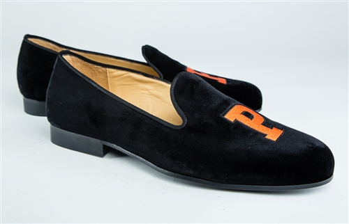Men's PRINCETON Black Velvet Shoe