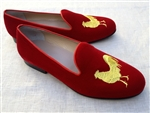 Men's Social Primer Red Velvet Chanticleer Shoe