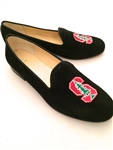 Men's Stanford University Black Suede Shoe