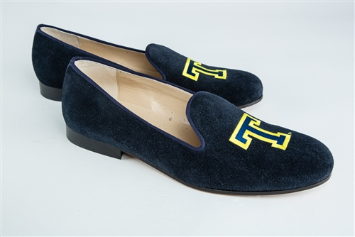 Men's Trinity College Blue Suede Shoe