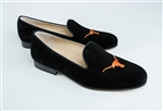 Men's University of Texas Black Suede Shoe