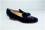 Men's VIRGINIA Blue Linen Shoe