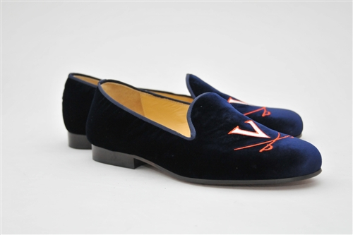 Men's VIRGINIA Blue Suede Shoe