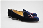 Men's VIRGINIA Blue Velvet Shoe