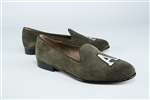 Women's ARMY Olive Suede Loafer