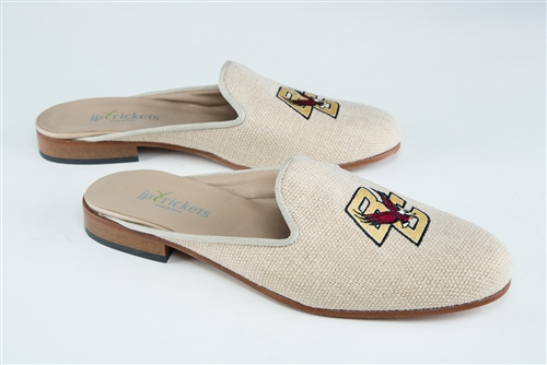 Women's Boston College Natural Linen Mule