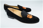 Women's CLEMSON Black Suede Loafer