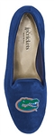 Women's University of Florida Blue Suede Loafer