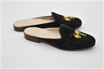 Women's GEORGIA TECH Black Suede Buzz Mascot Mule