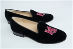 Women's HAMPDEN-SYDNEY Black Suede Loafer