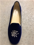 Women's Harvard Lampoon Blue Velvet Shoe
