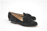 Women's JPC Tassel Black Suede Loafer