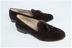Women's JPC Tassel Brown Suede Loafer