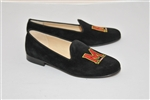 Women's UNIVERSITY OF MARYLAND Black Suede Loafer